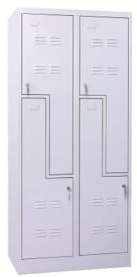 Z ajtós öltözőszekrény