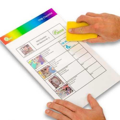 Quick Change törölhető dokumentumtartó leantoolbox tárhelyjelölés 1